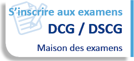 Inscription examen DCG | DSCG