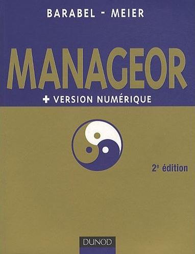 Couverture de l'ouvrage : Manageor