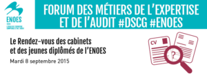 , Forum des métiers de l'expertise comptable et de l'audit