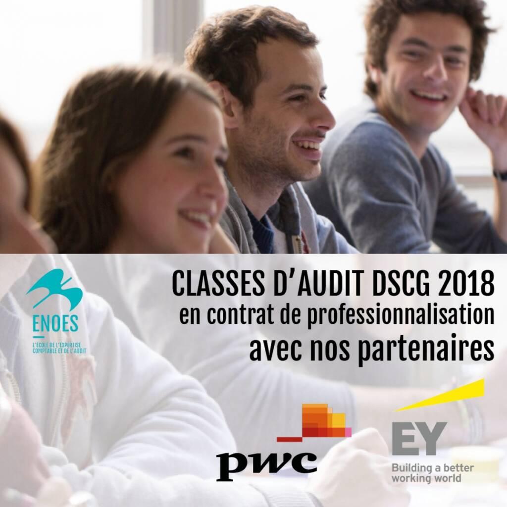 , Classes d'audit 2018 avec EY et PWC : les inscriptions sont ouvertes !