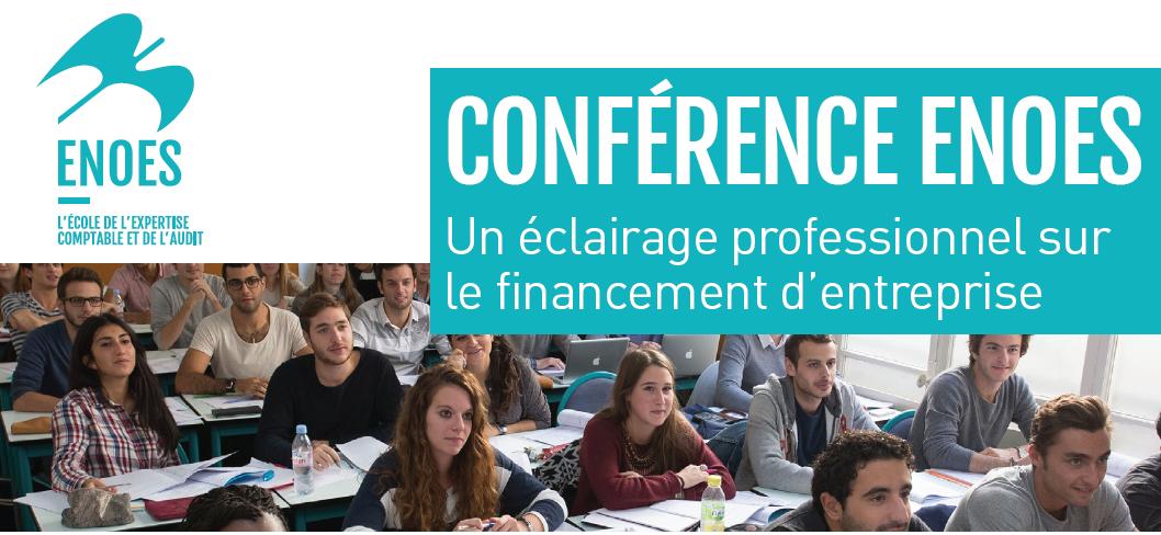 , Conférence ENOES : Tout savoir sur le financement d'entreprise