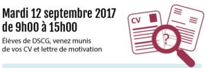 , Forum 2017 des métiers de l'expertise comptable et de l'audit