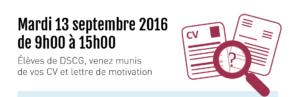 , Forum 2016 des métiers de l'expertise comptable et de l'audit