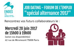 , Job Dating 2017 spécial alternance DCG et DSCG