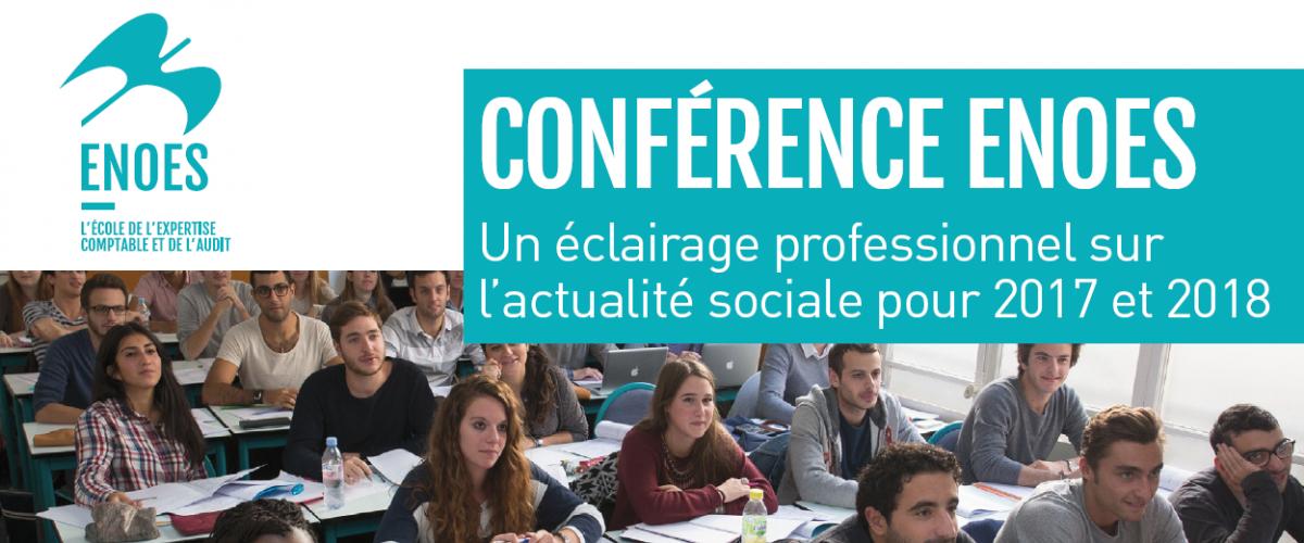 , Conférence sur l'actualité sociale et jurisprudentielle en droit du travail pour 2017 et 2018