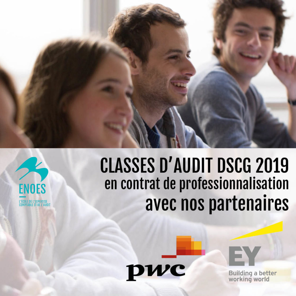 , Classes d'Audit 2019 avec EY et PWC : les inscriptions se poursuivent !