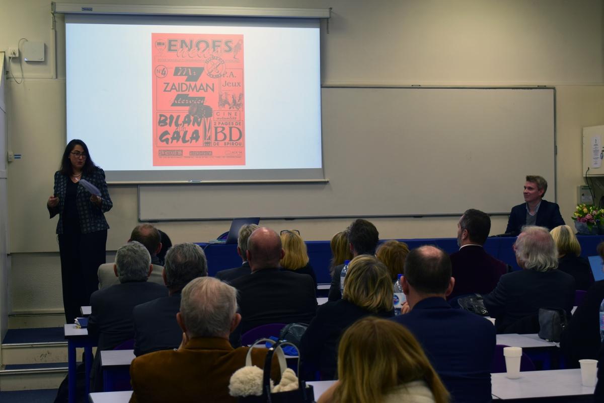 , Retour sur le lancement du livre des 80 ans de l'ENOES
