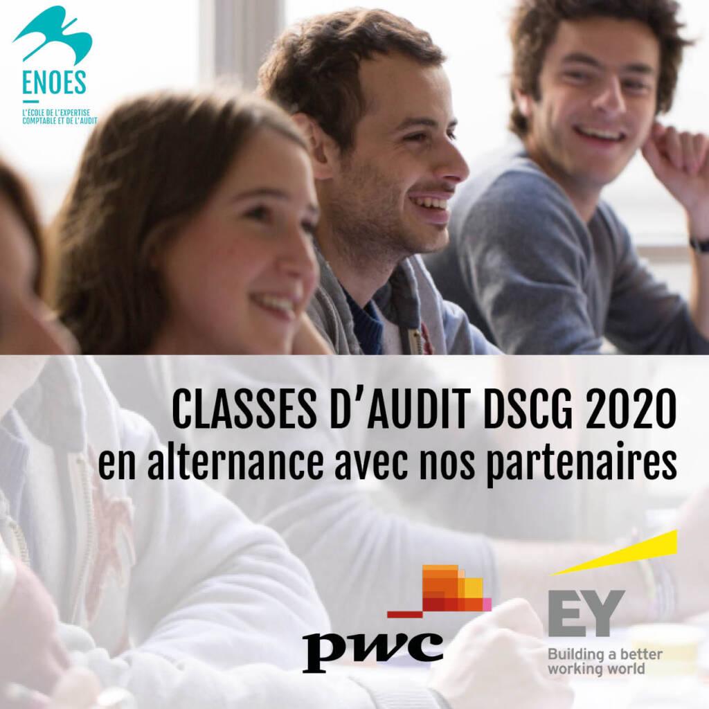 , Classes d'Audit 2020 avec EY et PWC