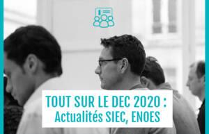 , Examen DEC 2020 – mise à jour SIEC