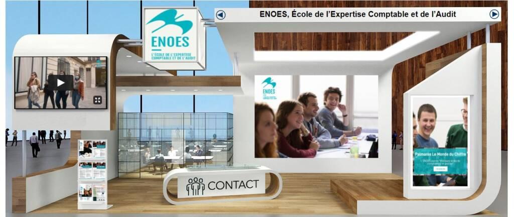 , Retrouvez l'ENOES sur le salon virtuel des études supérieures d'Île de France